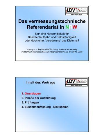1. Allgemeine Information