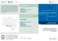 Deutsch für Arbeit und Beruf - Deutsch am Arbeitsplatz