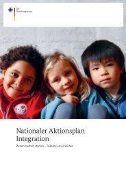 Nationaler Aktionsplan Integration ... - Bundesregierung