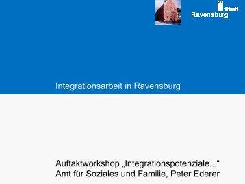 Ravensburg - Integrationspotenziale