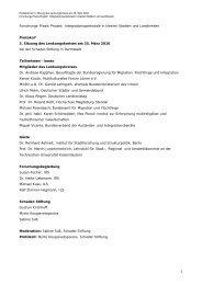 Protokoll 3. Sitzung LK_aktuelle Version - Integrationspotenziale