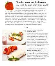 Pfunde runter mit Erdbeeren - Panorama-Online