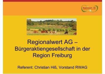 Regionalwert AG – - netzwerkvonchristen