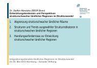 Dr. Steffen Maretzke - Integrationspotenziale