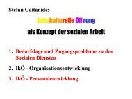 Vortrag Prof. Gaitanides - Integrationspotenziale