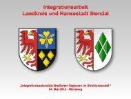 Vorstellung Landkreis Stendal und Hansestadt Stendal