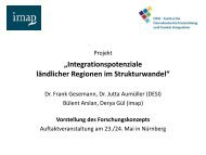 und Bülent Arslan (imap) - Integrationspotenziale