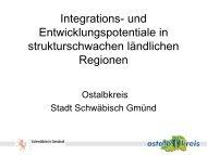 Vorstellung Ostalbkreis und Stadt Schwäbisch Gmünd