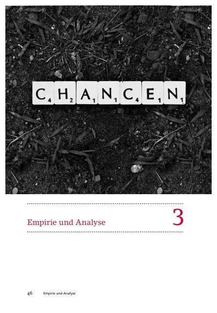 Empirie und Analyse - Integrationspotenziale