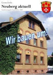 NEUBERG aktuell, Sonderausgabe 09/2009 - Gemeinde Neuberg