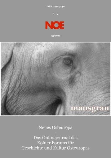 Nr. 9 ? Ausgabe 03/12 - Neues Osteuropa