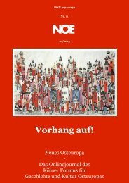 Nr. 11 - Neues Osteuropa