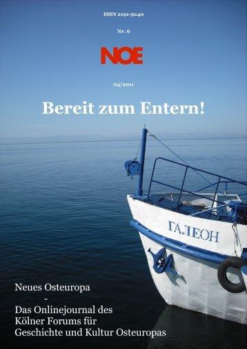 Nr. 6 ? Ausgabe 04/11 - Neues Osteuropa