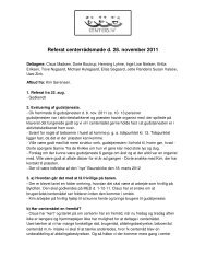 Referat centerrådsmøde d. 28. november 2011 - Bytoften.dk