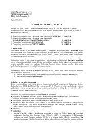 NATJEČAJ ZA UPIS STUDENATA - Medicinski fakultet
