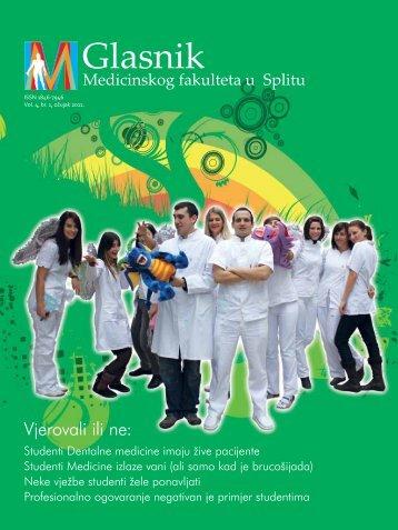 Glasnik - Medicinski fakultet