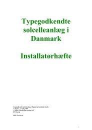 Typegodkendte solcelleanlæg i Danmark ... - Solenergi.dk