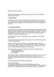 Referat af generalforsamlingen - Organistforeningen