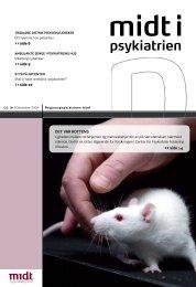 Midt i Psykiatrien - december 2008 - Region Midtjylland