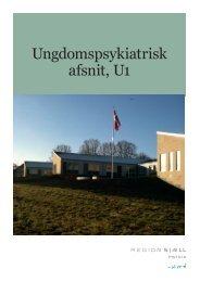 Velkomstfolder Ungdomspsykiatrisk afsnit U1 ... - Region Sjælland