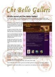 Få din kunst på Che Bello Galleri - Che-bello.com