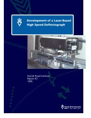 Development of a Laser-Based High Speed Deflectograph - Rahiran.ir