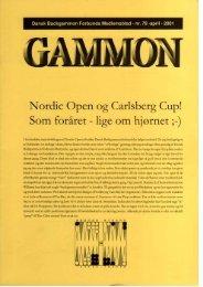 Nordic Open og Carlsberg Cup! - Dansk Backgammon Forbund