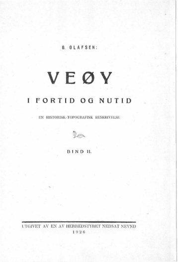 Veøy i fortid og nutid - BIND II - Romsdal Sogelag