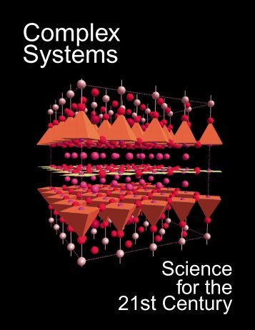 Complex Systems - Office of Science - U.S. Department of Energy