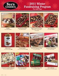 2011 Winter Fundraising Program, See's Candies - Nevada County ...