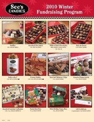 See's Candies 2010 Winter Fundraising Program - Nevada County ...
