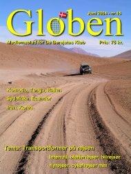 Næste Globen-tema: Alternative rejser - De Berejstes Klub
