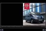 brochure på Nissan Primastar
