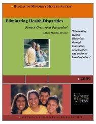 • 2009 Eliminating Health Disparities - Louisiana Department of ...
