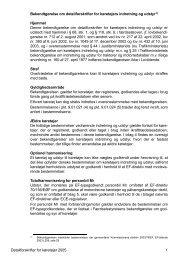 Detailforskrifter for køretøjers indretning og udstyr