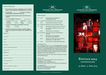 festtage 2013 - Heimat.de