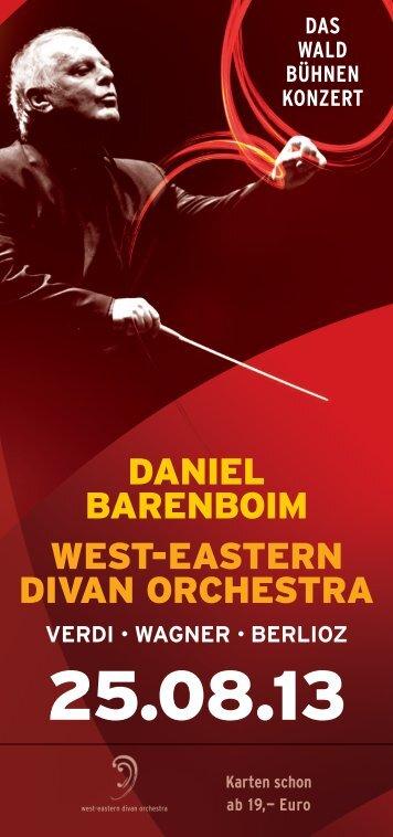 daniel barenboim west-eastern divan orchestra - Heimat.de