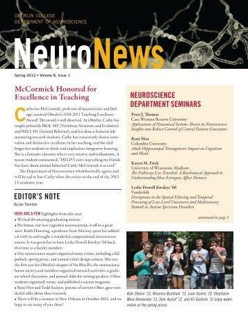 NeuroNews - Oberlin College