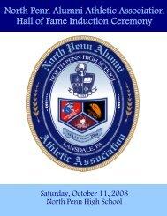 2008 NPAAA Hall of Fame Inductees - North Penn Alumni Athletic ...