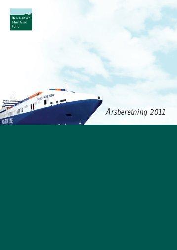 Årsberetning 2011 - Den Danske Maritime Fond