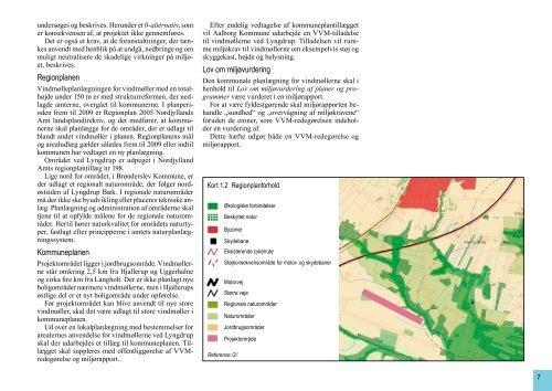 Vindmøller ved Lyngdrup, VVM-redegørelse og miljørapport, August ...