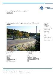 Godkendelse af Tankanlæg Vestbjerg - Aalborg Kommune