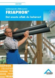 FRIAPHON® - Glynwed A/S