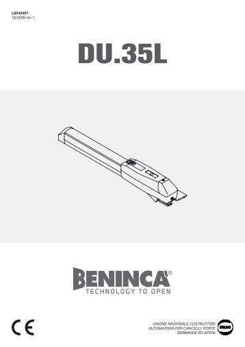 DU.35L - Automatic Gate Barrier
