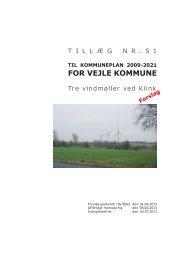 til kommuneplan 2009-2021 for vejle kommune