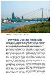 Tour 9: Die Deutzer Rheinseite