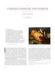 cornelis cornelisz. van haarlem, The Labours of Hercules