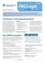 PKO-nytt_Drammen_2009_nr_4 - Vestre Viken HF