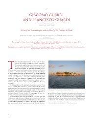 Giacomo Guardi and francesco Guardi, A View of