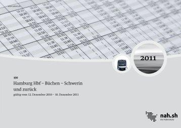 Hamburg Hbf – Büchen – Schwerin und zurück